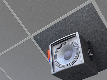Our coaxial ceiling speakers: how were they born